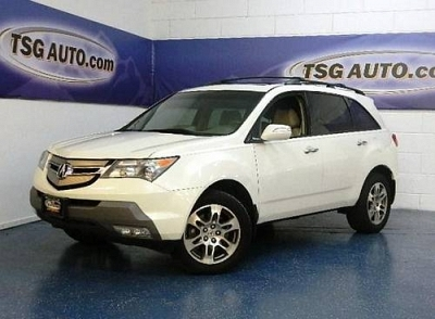 acura mdx tech package