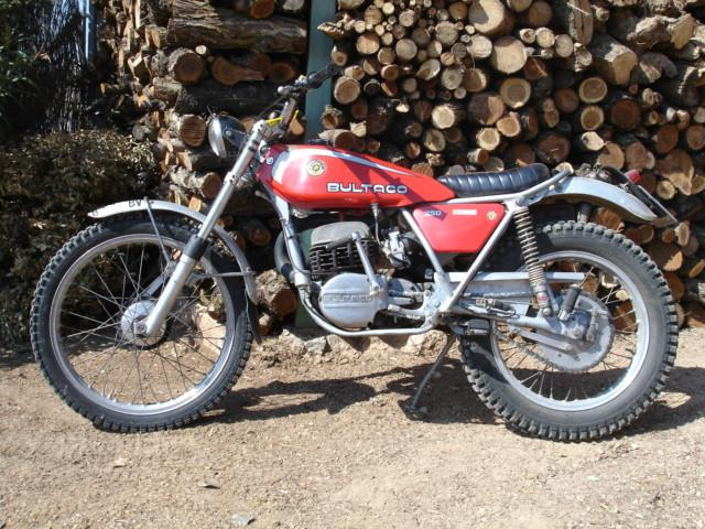 Bultaco sherpa 250  Best photos and information of modification