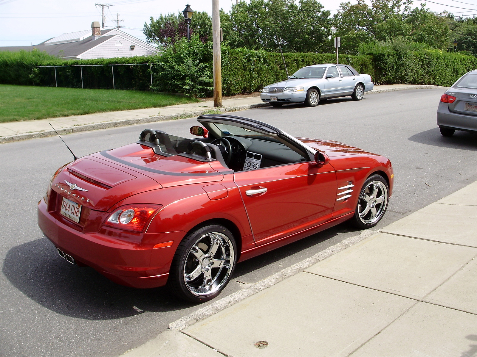 chrysler crossfire roadster limited