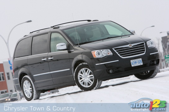 chrysler town country limited