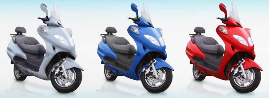 current motor scooter-2