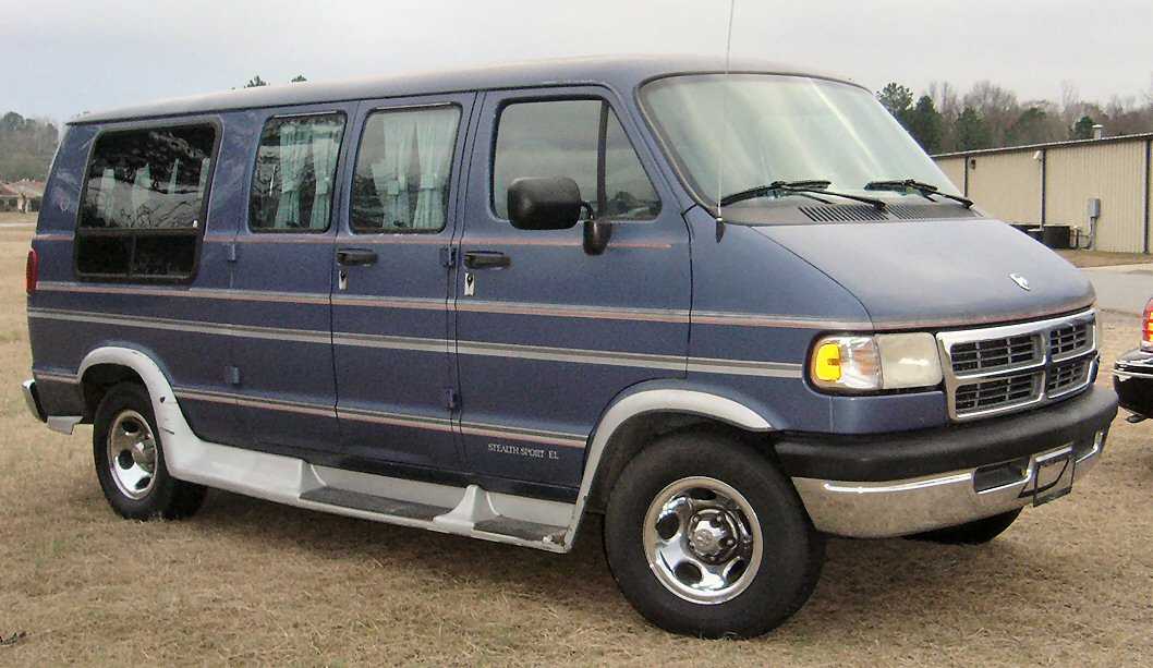dodge van custom