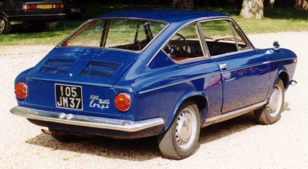 fiat 850 special