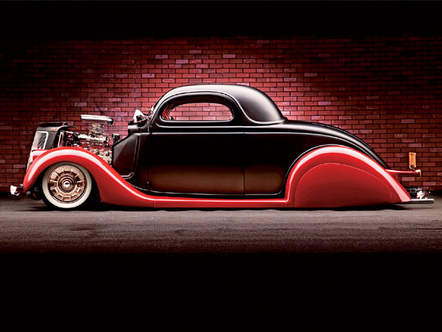 ford coupe 36