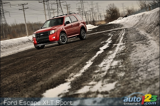 ford escape xlt sport