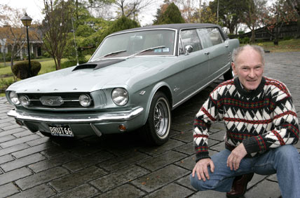ford mustang limousine