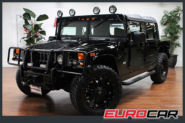 hummer h1 alpha open top