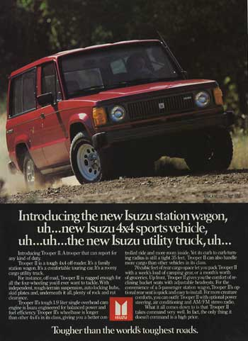 isuzu trooper wagon