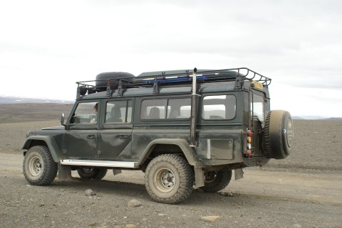 land rover defender wagon