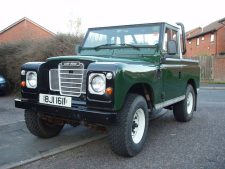 land rover series pickup