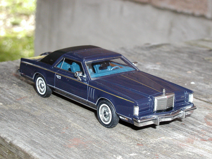 lincoln continental mkv