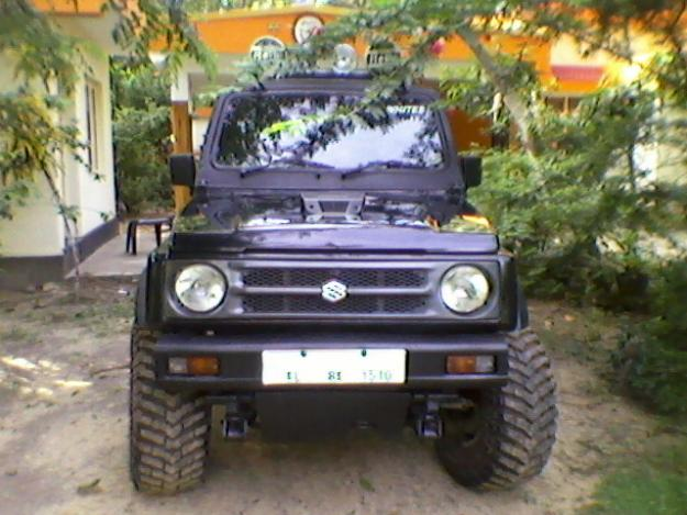Maruti gypsy king  Best photos and information of modification