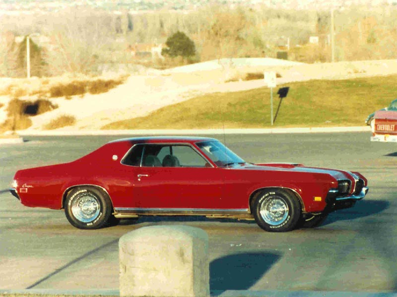 mercury cougar xr-7
