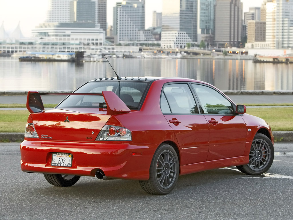 mitsubishi lancer evolution mr