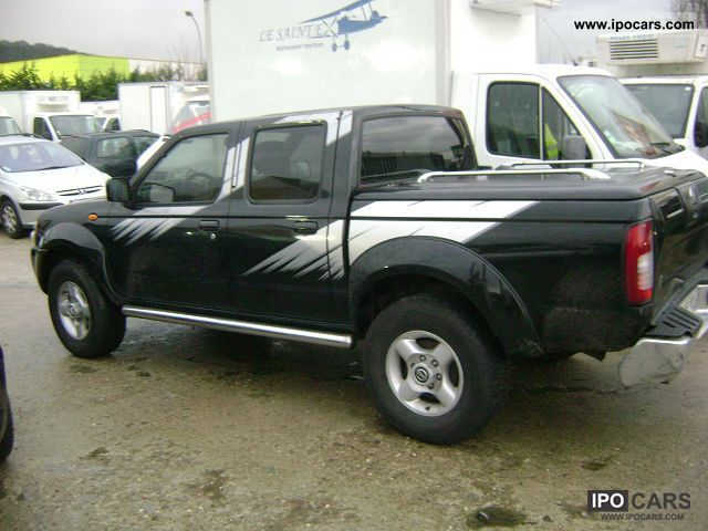 nissan pick-up double