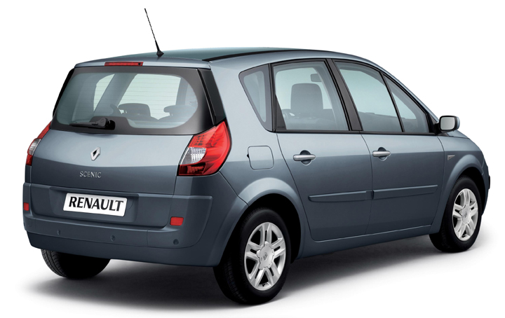 renault scenic exception