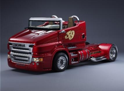 scania r999 red pearl