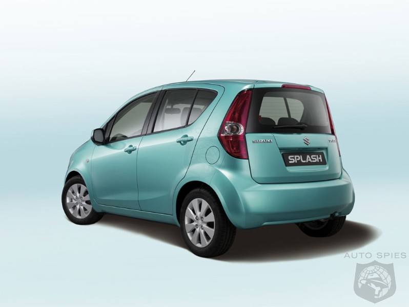 suzuki splash at