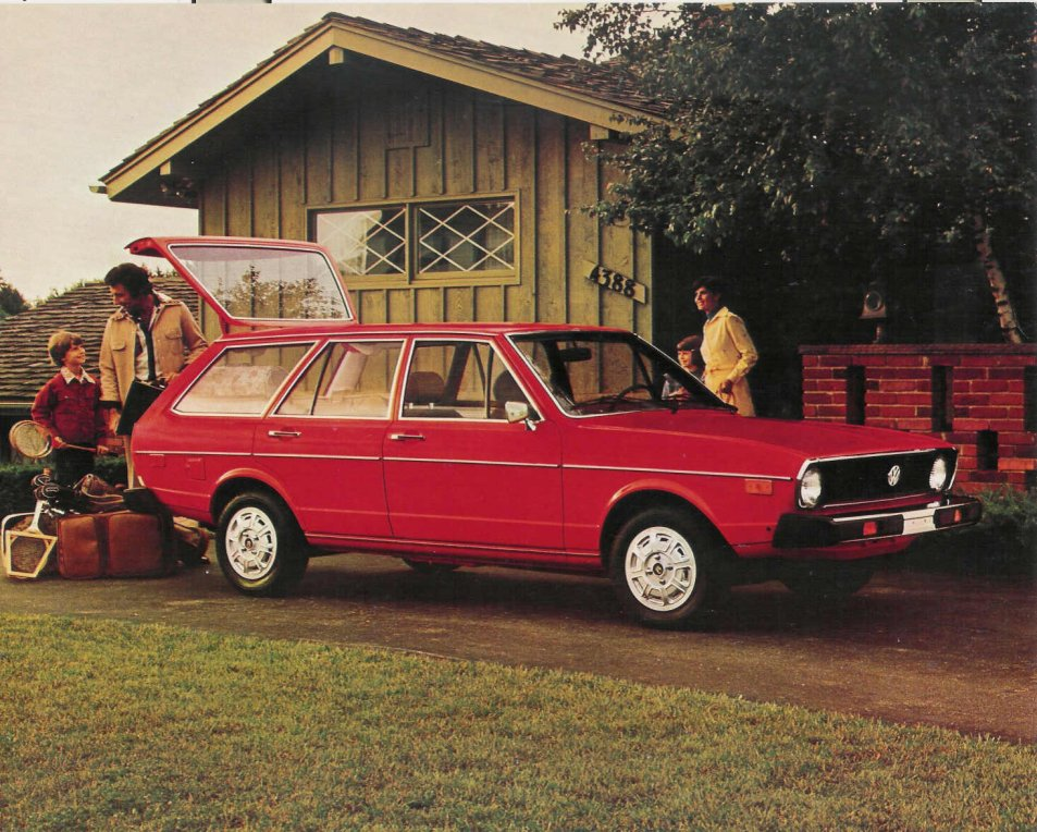 volkswagen dasher wagon