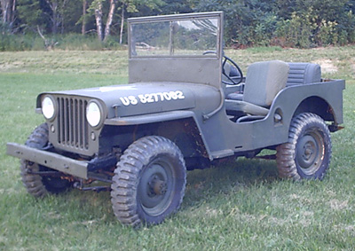 willys cj2a