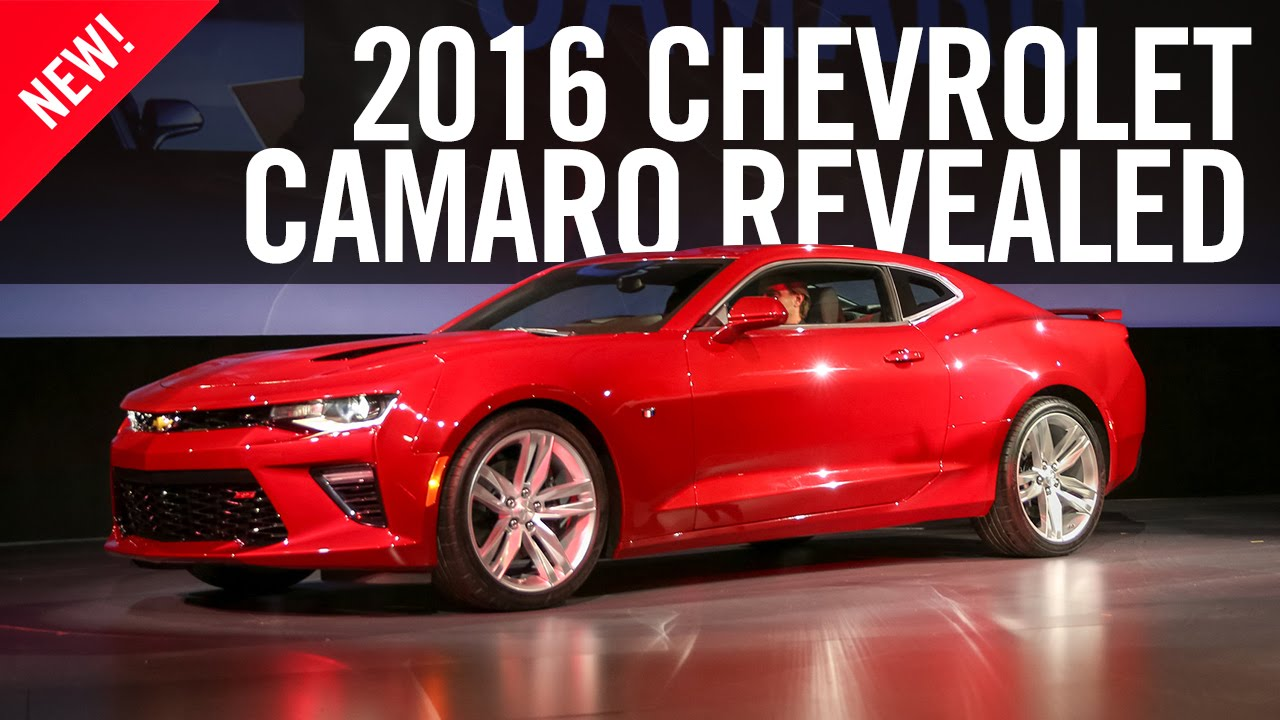 Chevrolet Camaro, the sixth generation Camaro looks an updated version of the fifth
