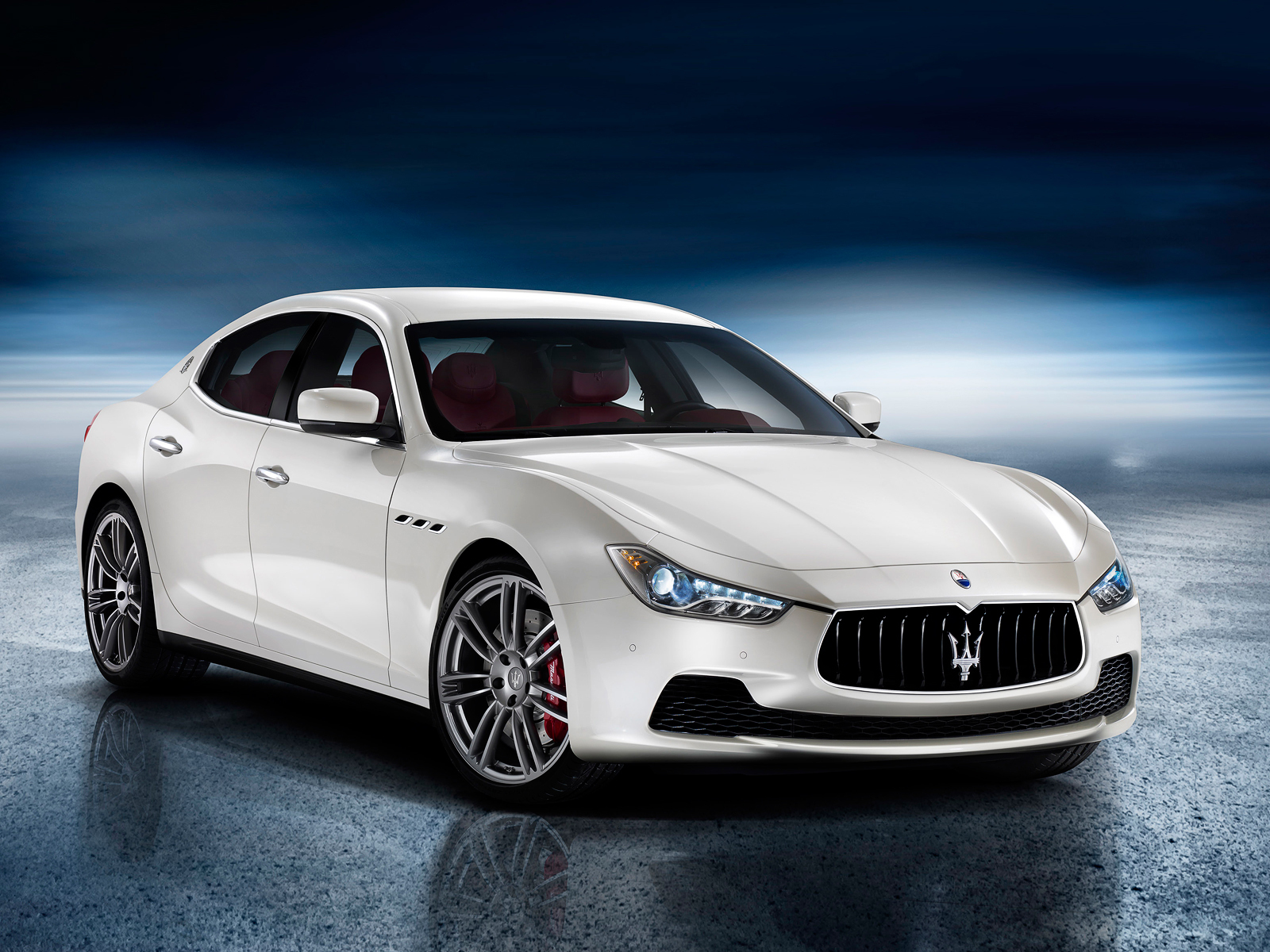 Maserati has declassified its new Ghibli sedan