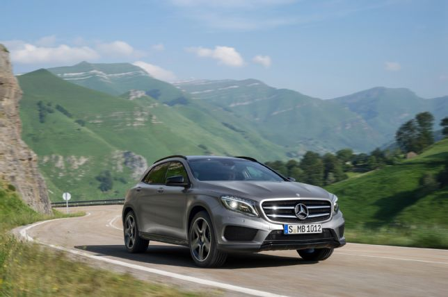 Mercedes SUV GLA – Waiting For Ultimate Launch
