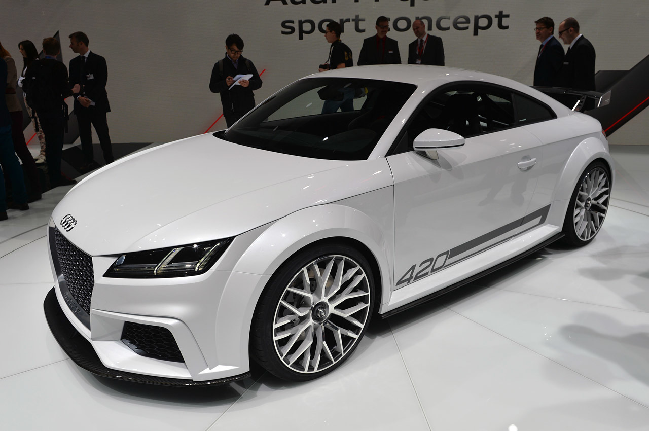 New Audi TT RS Now Will Turn Out More Power