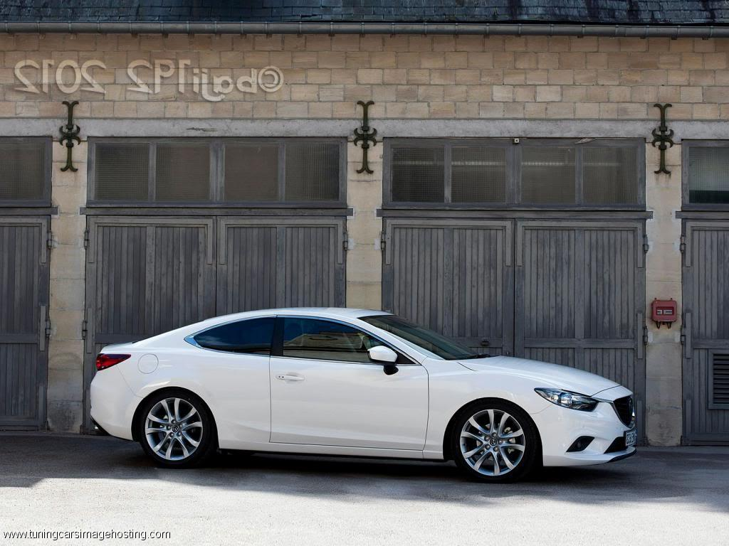 Stylish Design Of Mazda Coupe Quite Attracts
