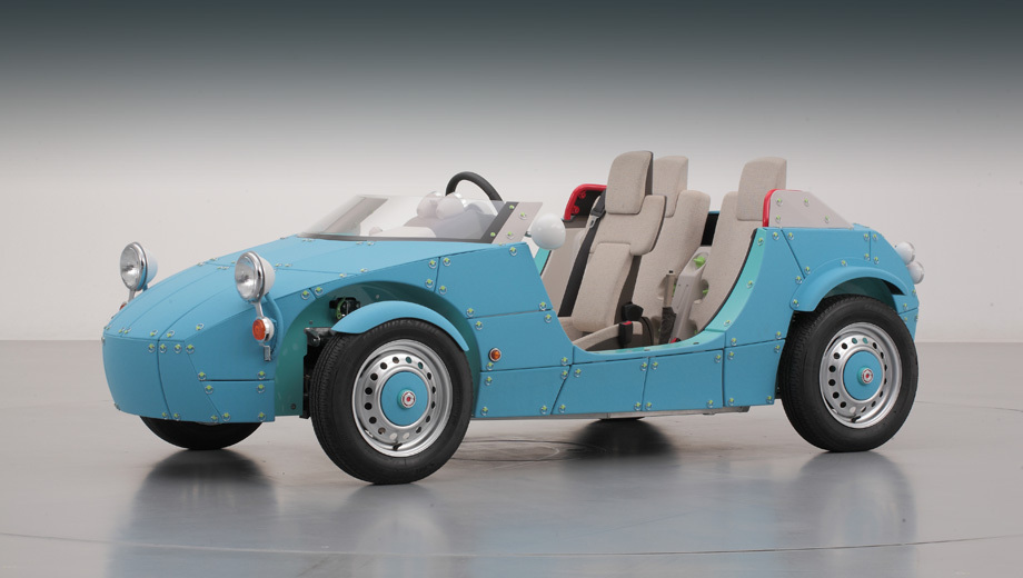 Toyota created a roadster for kids