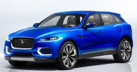 2017 Jaguar F-Pace SUV Spy Photos: show dramatic body shape under the camo wraps