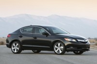 Acura ILX and the upgraded one in 2014