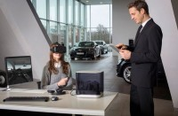 Audi lets you to browse the entire dealership inventory through its virtual reality headset