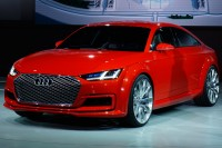 Audi TT Sportback concept revealed at Paris Auto Show
