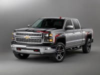 Chevrolet Silverado 1500 6.2L 4x4 8-Speed Automatic: greater drive ratio offers better drive dynamics