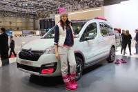 Citroën shows crazy Mountain Vibe Concept Berlingo at Geneva