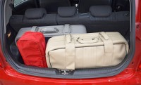 How to put your luggage in the car