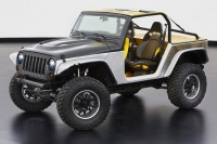 Jeep unveils Diesel-Powered Wrangler Rocks Star at Geneva Show