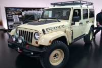 Jeep Wrangler Africa Concept:   Safari ready and raring to go into the bush