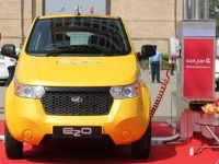 Mahindra Company has released an electric vehicle available for $11.000