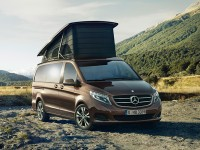 Mercedes Benz' Latest Is Its Comfy and Stylish Marco Polo Camper Van