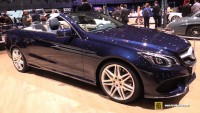 Mercedes-Benz Displayed its E Class Cabriolet along with Coupe At 2015 New York Motor Show