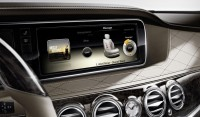 Mercedes shared the photos of the new S-class sedans' interior