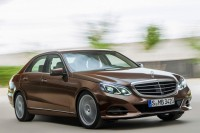 Published the first photos of the updated Mercedes-Benz E-Class