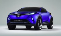 The All New Toyota C-HR Concept Vehicle Getting Revealed