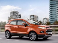 The European Ford EcoSport will come from India