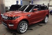 The first pictures of Range Rover Sport SUV appeared on the Internet
