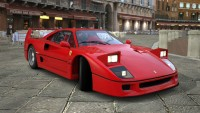 Who is better on the road - Ferrari F40 or the Lamborghini Diablo?